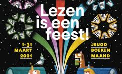 Jeugdboekenmaand 2021 - Lezen is een feest!